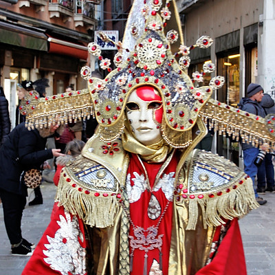 VENEZIA 2019: Uno sciame di maschere al Carnavale