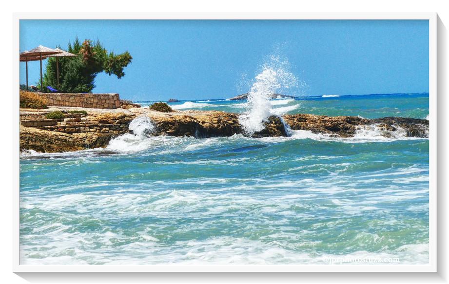 Tempête sur la mer de Crête Aff WM ENC