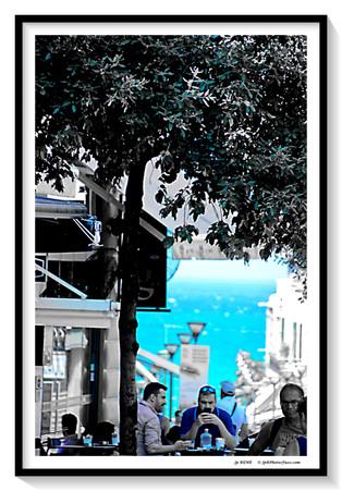 Héraklion- Crète, à la recherche de la fraîcheur.