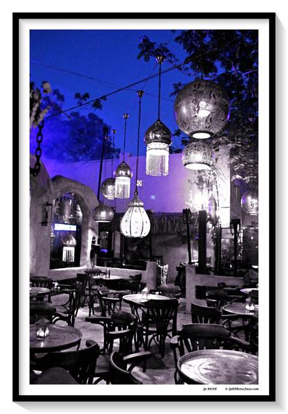 Mascate-Sultanat Oman, soirée d'été.
