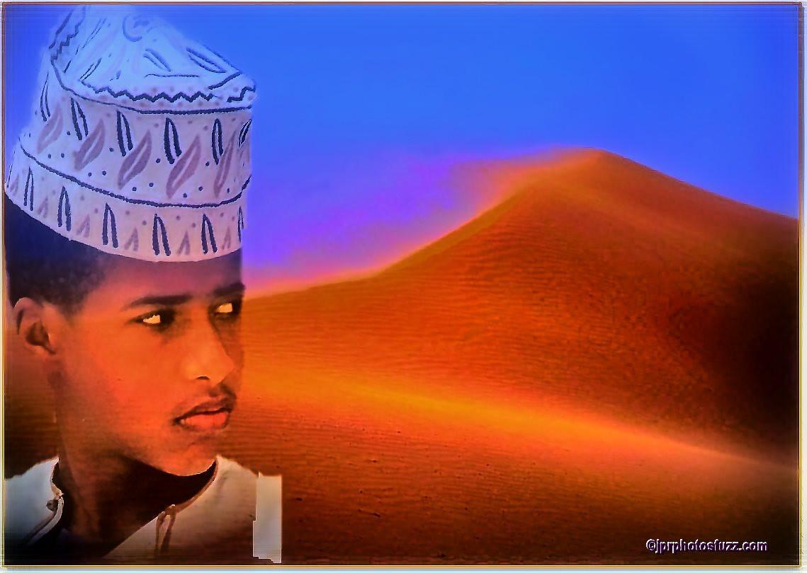 WAHIBA DESERT Boy - Oman