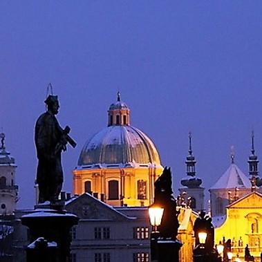 Prague, la Belle Hivernale...