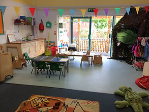 Smiley Face Nursery Caterpillar Room