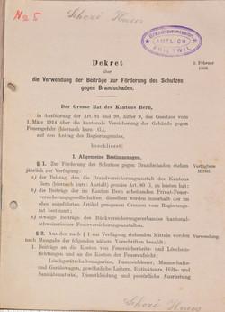 1938 Dekret