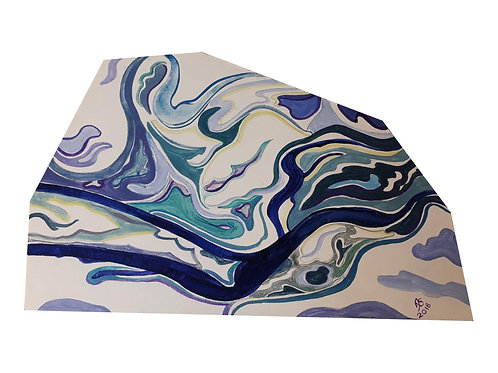 2D Shaped Painting