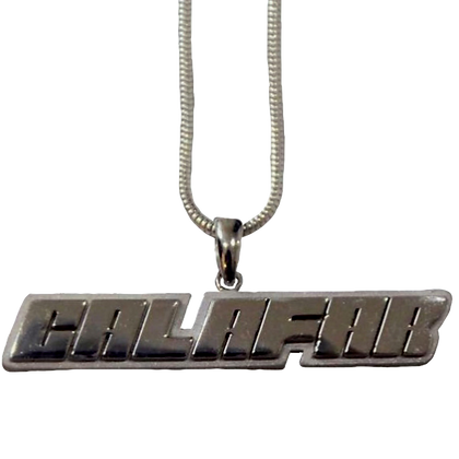 Calafar Sterling Silver Chain and Pendant