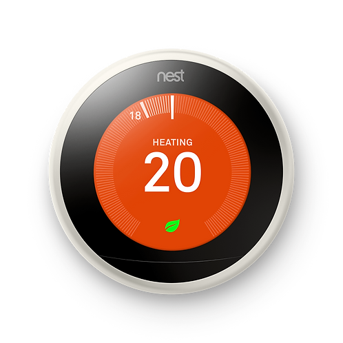 Nest Learning Thermostat- 3rd generation in White