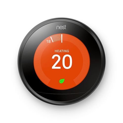 Nest Learning Thermostat- 3rd generation in Black