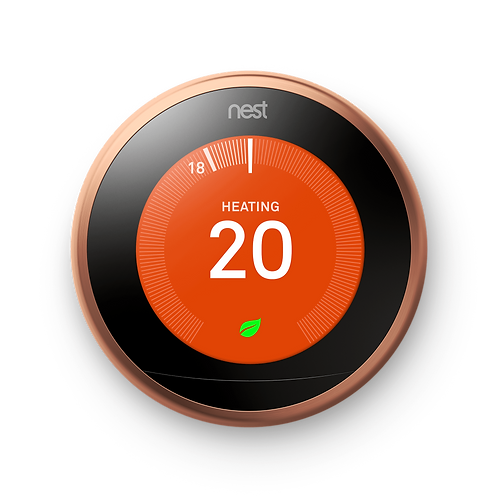 Nest Learning Thermostat- 3rd generation in Copper