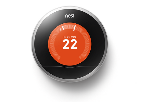 Nest Learning Thermostat-3rd generation in Silver
