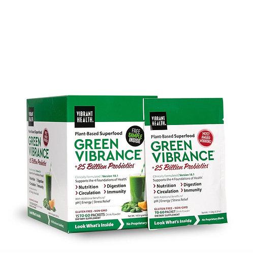 Green Vibrance Travel packs