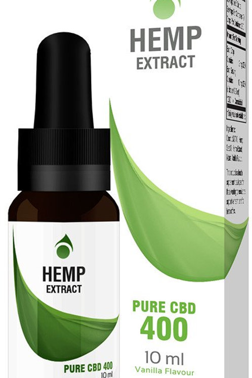 Hemp Extract Pure CBD 400mg