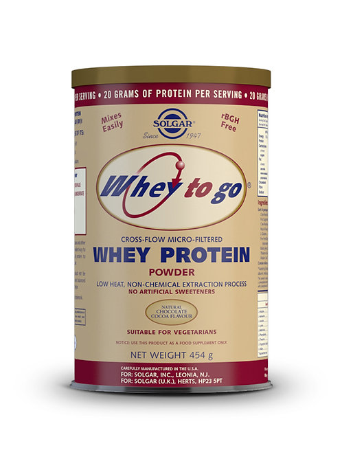 Whey Protein Chocolate 454 g Powder