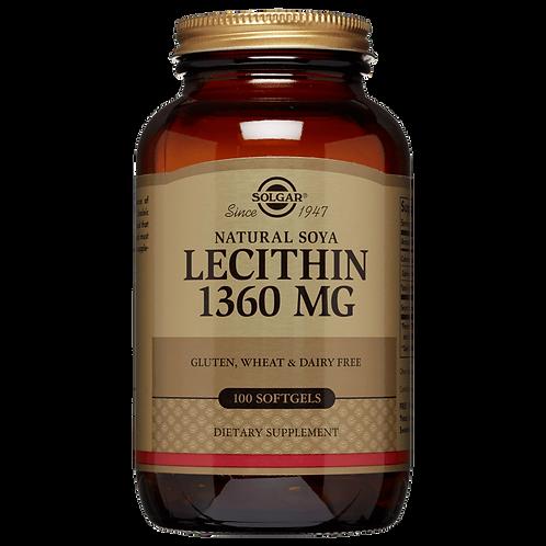 Lecithin 1360mg100 Softgels