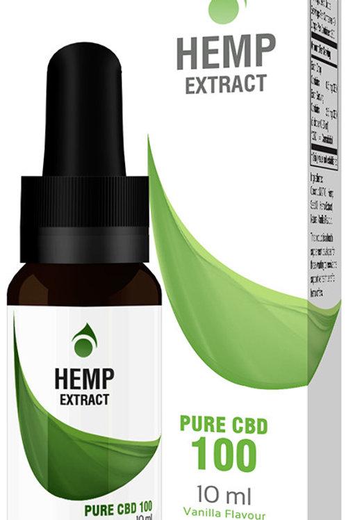 Hemp Extract Pure CBD 100mg