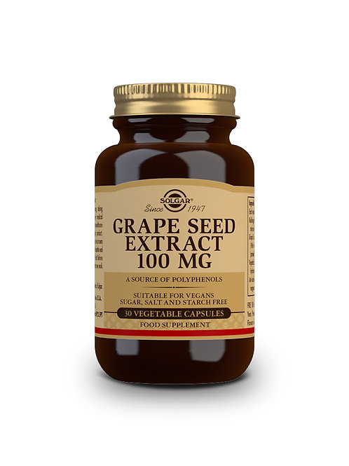 Grape Seed Extract 100 mg 30 Vegicaps