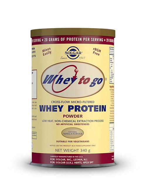 Whey Protein Vanilla 340 g Powder