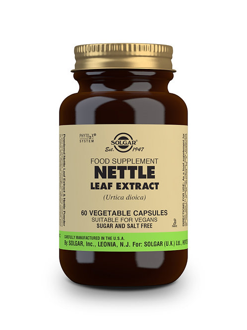 Nettle Leaf Extract 60 Vegicaps