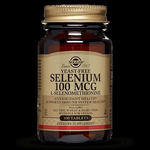 Selenium 100 mcg 100 Tablets