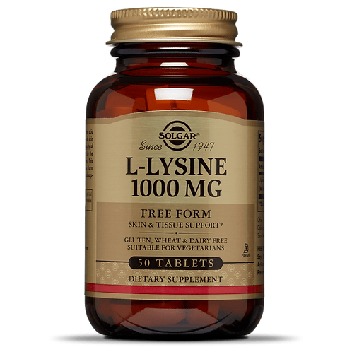 L-Lysine 1000mg 50 Tablets