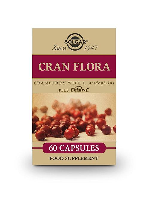 Cran Flora With Probiotics Plus Ester C 60 Vegicaps