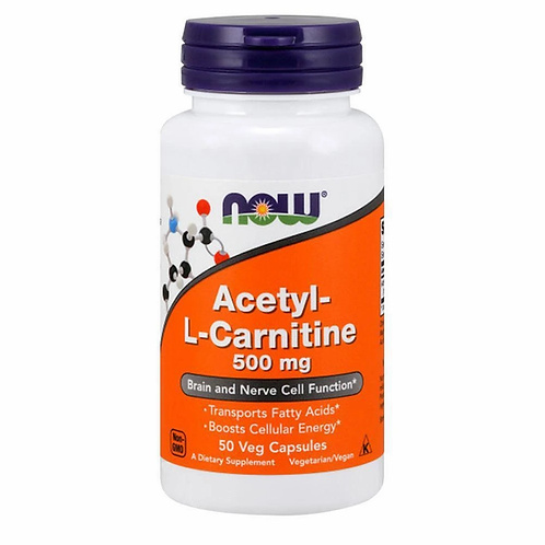 Now Acetyl-L-Carnitine 500mg