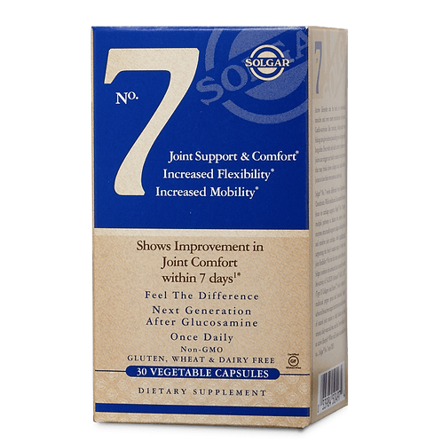 No.7 Joint Support 30 Vegetable Capsules