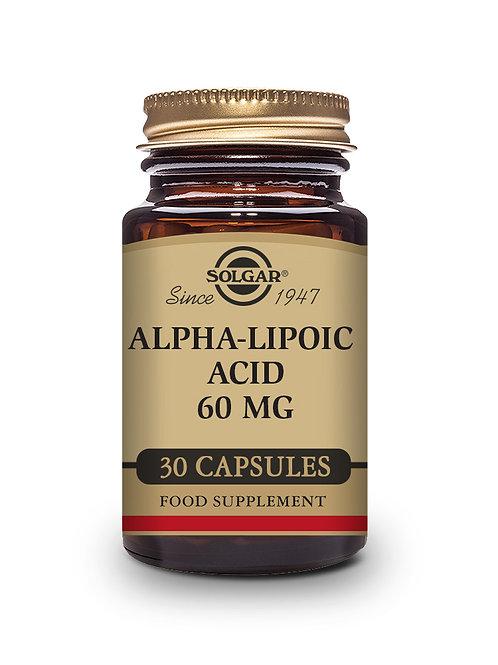 Alpha-Lipoic Acid 60 mg 30 Vegicaps