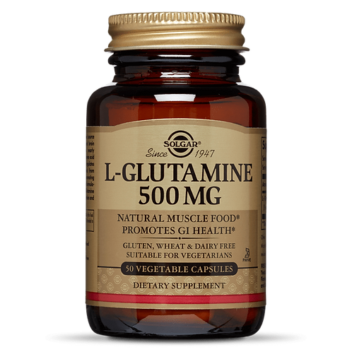 L-Glutamine 500mg 50 Vegicaps