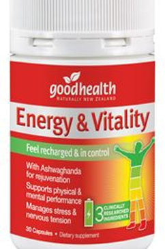 Energy & Vitality 30 capsules