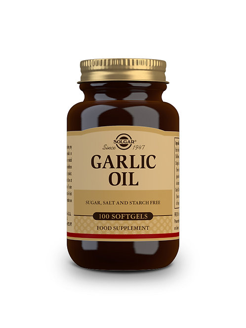 Garlic Oil (Reduced odour) 100 Softgels