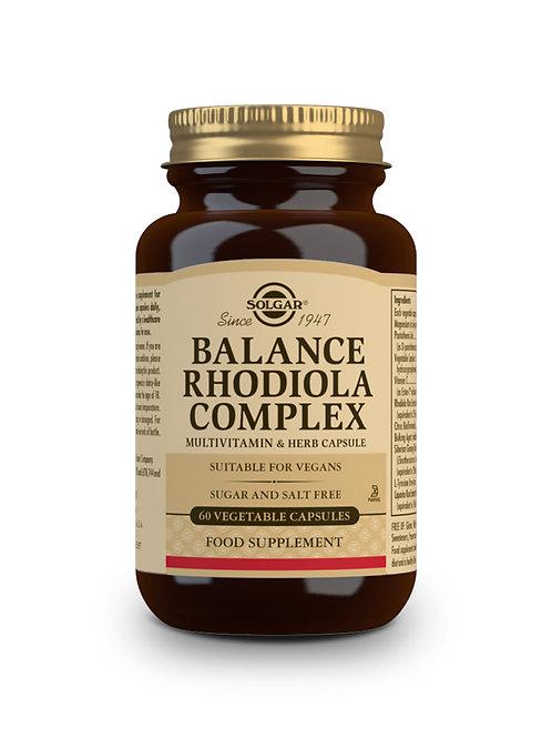Balance Rhodiola Complex 60 Vegicaps