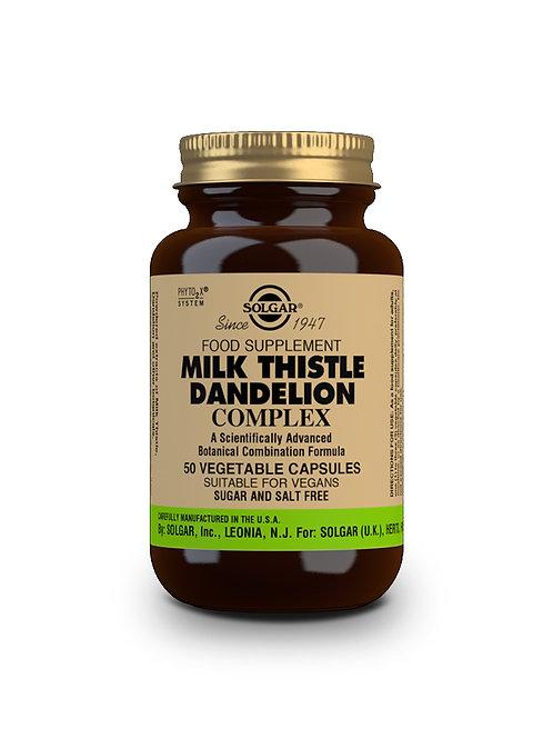 Milk Thistle Dandelion Complex 50 Vegicaps