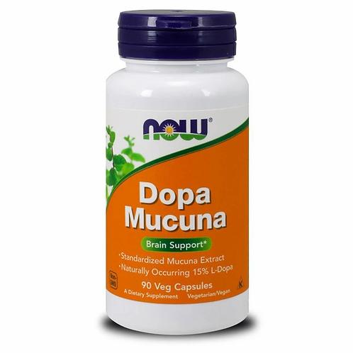 Now Dopa Mucuna 90 capsules