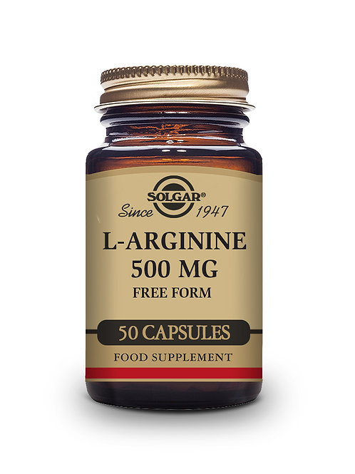 L-Arginine 500 mg 50 Vegicaps