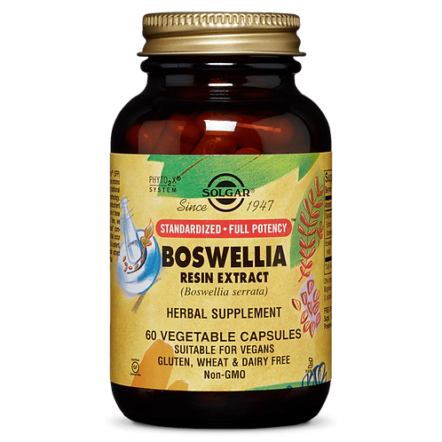 Boswellia Resin Extract 60 Vegetable Capsules
