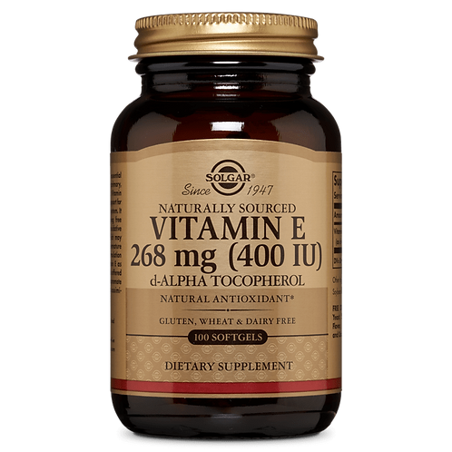 Vitamin E 268 mg (400iu) 50 Vegicaps