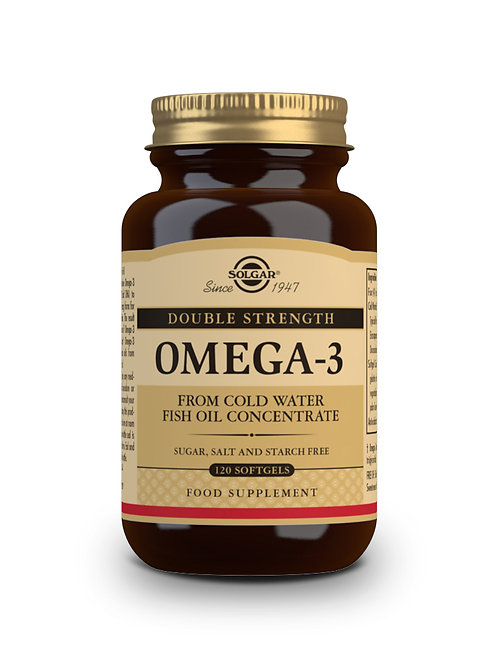 Double Strength Omega-3 120 softgels