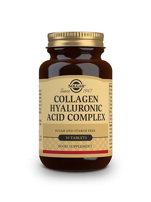 Collagen Hyaluronic Acid Complex 30 Tablets