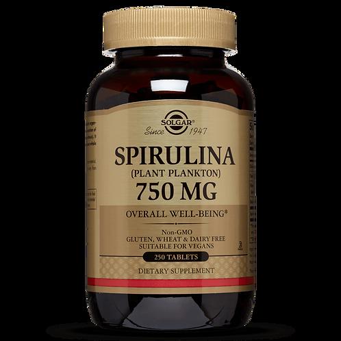Spirulina 750 mg 80 Capsules