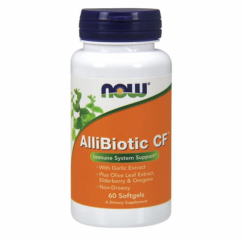 Now AlliBiotic CF 60 softgels