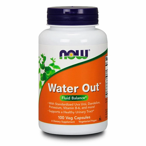 Now Water Out 100 capsules