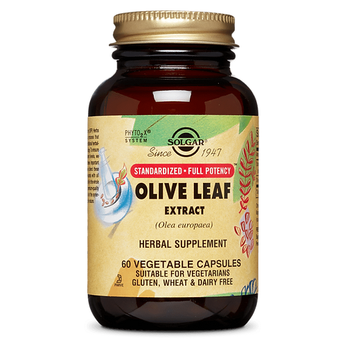 Olive Leaf Extract 60 Vegetable Capsules
