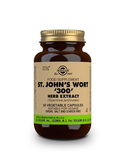 St. John's Wort '300' Herb Extract 50 Vegicaps