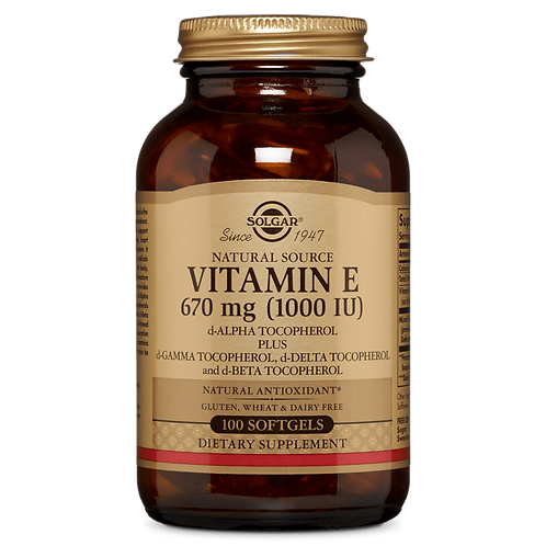 Vitamin E 670 mg (1000iu) 50 Vegi softgels