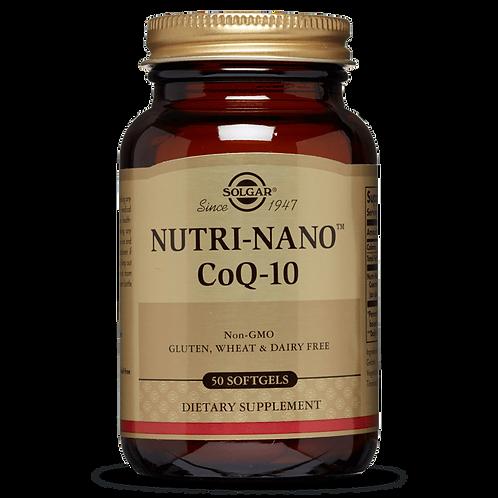 Nutri-Nano CoQ-10 50 Softgels
