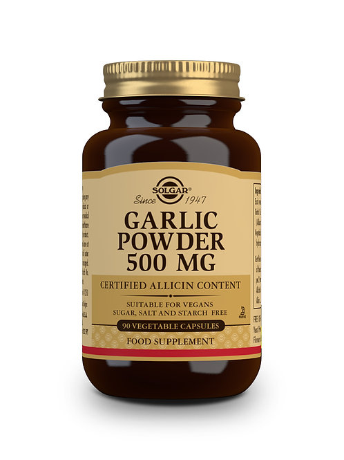 Garlic Powder 500 mg 90 Vegicaps