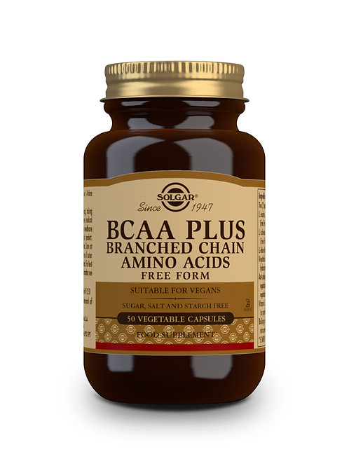 BCAA Branched Chain Amino Acids 50 Vegicaps