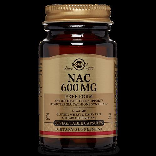 NAC 600 mg 60 Vegetable Capsules