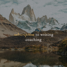 Subscription to Writing Coaching | 4 Sessions/Month